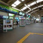 江ノ電沿線フォトコンテスト駅展示の様子