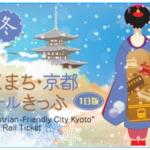 歩くまち・京都レールきっぷ1日版券面