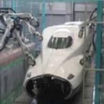 先頭車研ぎロボット