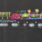 上諏訪駅イルミネーション(イメージ)