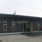 北山形駅(東口)新駅舎