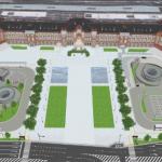 広場整備イメージ