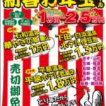 びゅう「新春お年玉セール」
