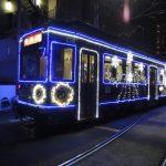 熊本市交通局 イルミネーション電車