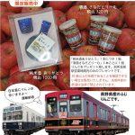 「日本酒を買うとりんごプレゼント!」キャンペーンチラシ