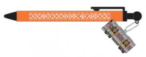 大阪環状線323系フィギュア付きボールペン
