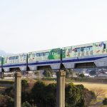 ラッピング列車「JRA号」