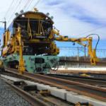 新幹線レール交換システム