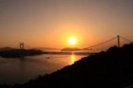 鷲羽山からの夕景