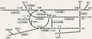 関西自由周遊区間