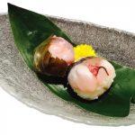 お嬢サバを使ったてまり寿司(生)