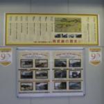 武蔵小杉駅の展示