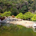 栗林公園 四国 香川