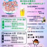 北陸鉄道石川線「お花見電車」