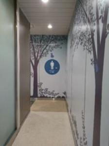 西船橋駅:男性トイレ