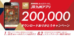 20万ダウンロードありがとうキャンペーン