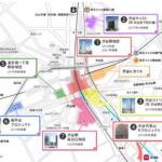 渋谷駅周辺地区における再開発事業