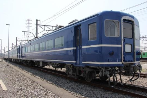 SL運転で使用する客車