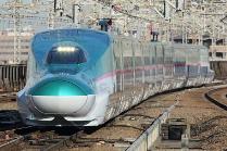 〈東北新幹線E5系(イメージ)〉