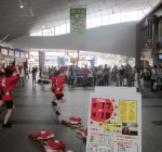 昨年の様子(上尾駅)