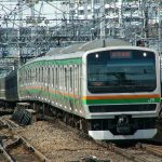 東海道線(E231系)
