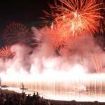諏訪湖祭湖上花火大会(イメージ)
