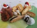 コース上の菓子屋のお菓子イメージ