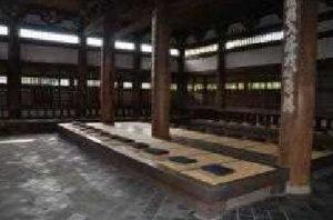 東福寺(禅堂内部)
